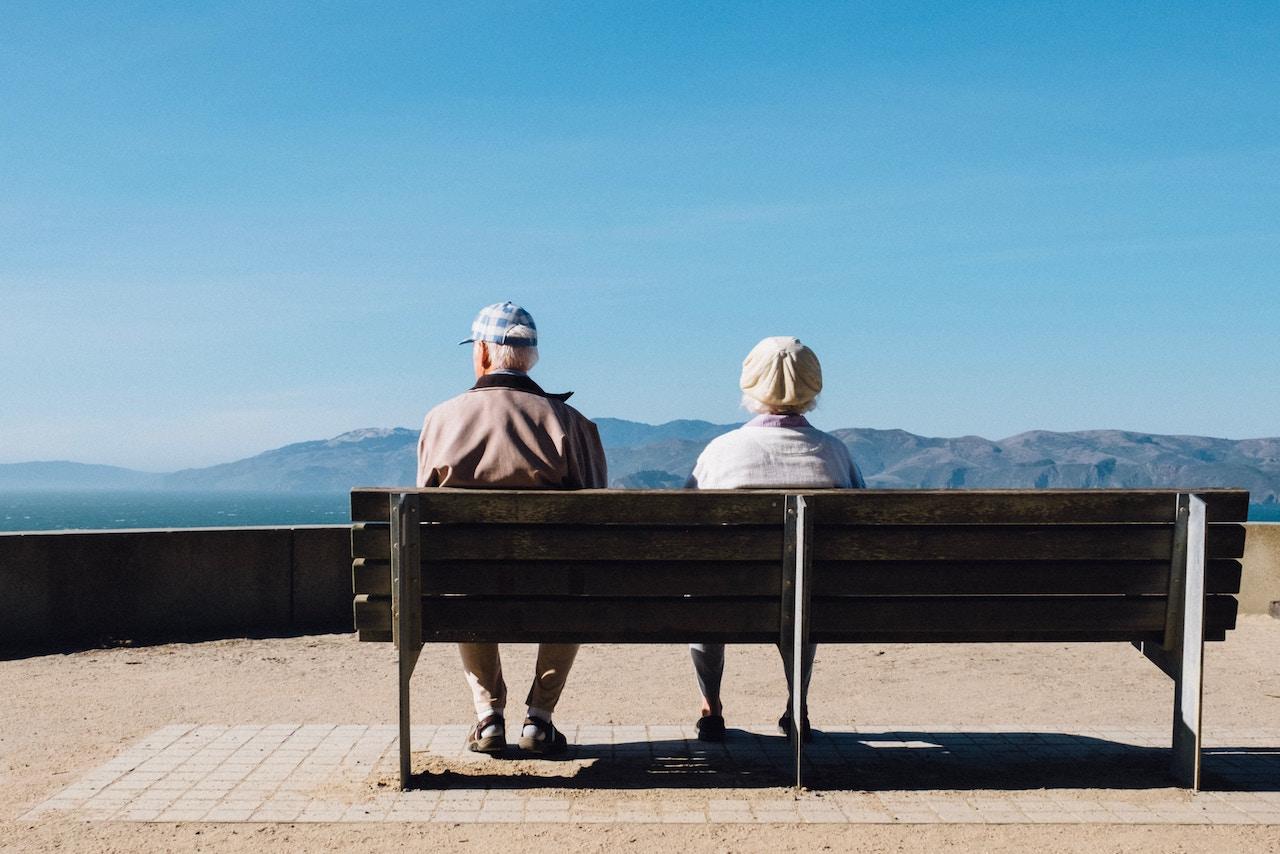 Senior Couple in the retirement community