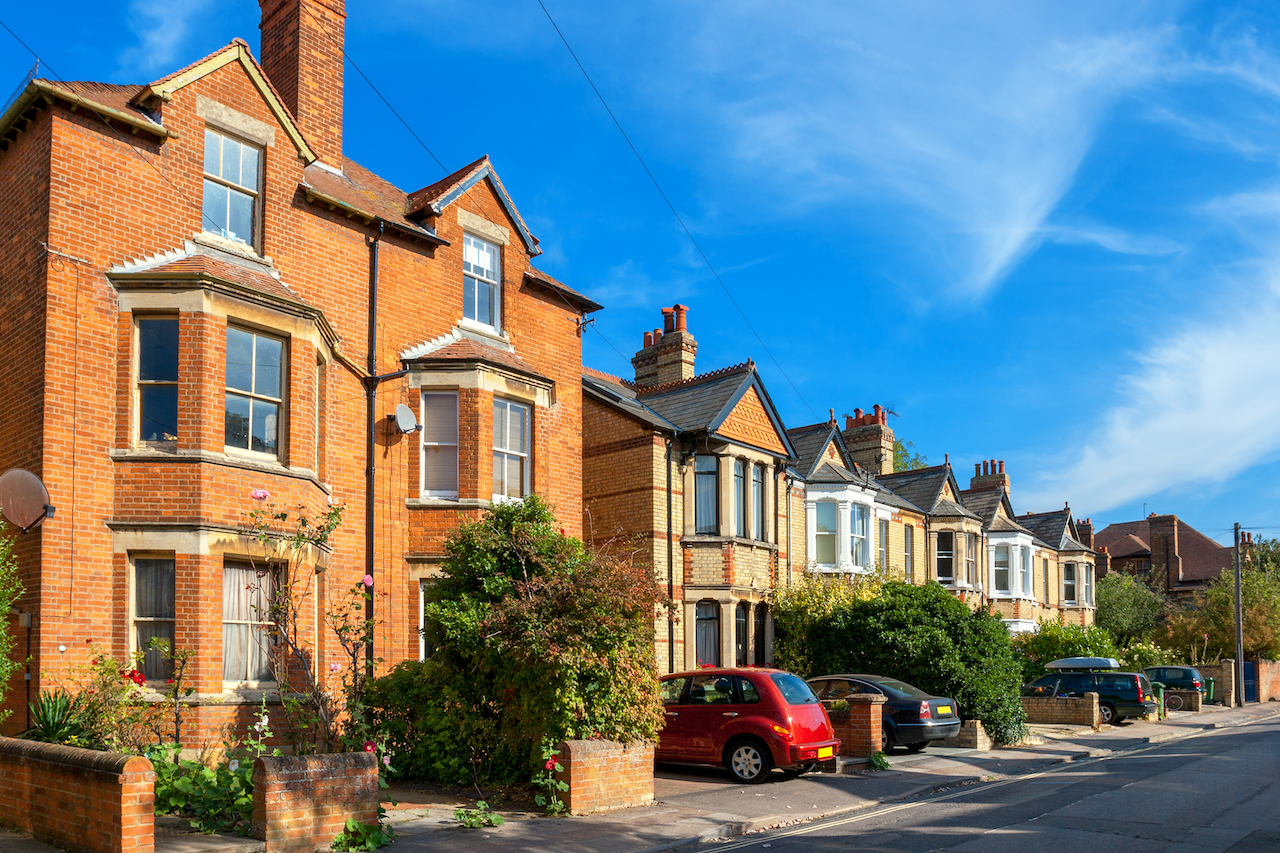 Suburban townhouses and duplexes for rent